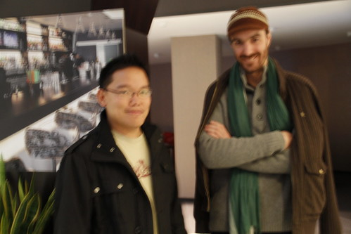 With Simon the French animator