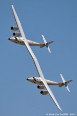 White Knight Two (mvonraesfeld) Tags: house flying open space aircraft aviation flight airshow virgin explore edwards galactic afb wk2 img2102 whiteknighttwo