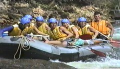 890810 Rafting 4 (rona.h) Tags: video australia august 1989 cacique whitewaterrafting tullyriver cloudnine ronah