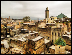 The Old City of Fez ! (Bashar Shglila) Tags: old city town mosque morocco fez maroc marruecos fes  the  maroco      karaouine   mygearandme mygearandmepremium