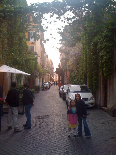 Via Margutta, the cutest street in Rome