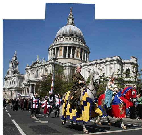 St George's Day Pageant at St Paul's Cathedral
