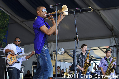 Trombone Shorty And Orleans Avenue - 05-07-11 - New Orleans Jazz & Heritage Festival, New Orleans, LA