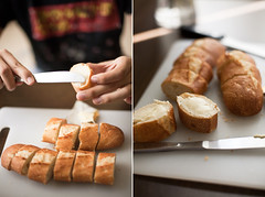 Bread and butter (Pink Scarf) Tags: food bread butter snack canon5d making domesticlife foodphotography canon50mm14