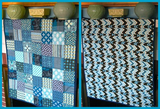 Cassian Blue Quilt