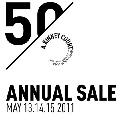 A. Kinney Court Annual Sale