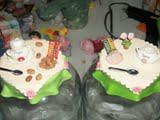 potes arroz e feijão (lollyart) Tags: eva biscuit infantil casamento enfeites festas maternidade lembrancinhas