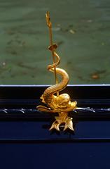 Gondola (dettaglio) (giopuo) Tags: venice golden boat dolphin gondola venezia oro delfino