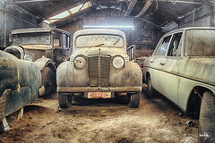 old cars (silent witnesses) Tags: old cars abandoned decay berrie verganeglorie leijten silentwitnesses