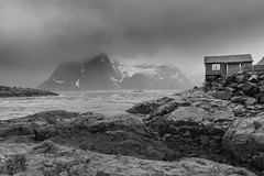 By the Sea (Andrew G Robertson) Tags: lofoten norway islands hamnoy fjord norge canon 5d mkiv reine nordland