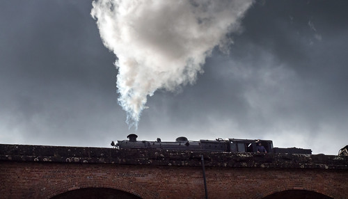 Steam and a Stormy Sky