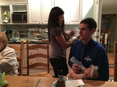 "Joe Feeds Dani • <a style=""font-size:0.8em;"" href=""http://www.flickr.com/photos/109120354@N07/32986890151/"" target=""_blank"">View on Flickr</a>"