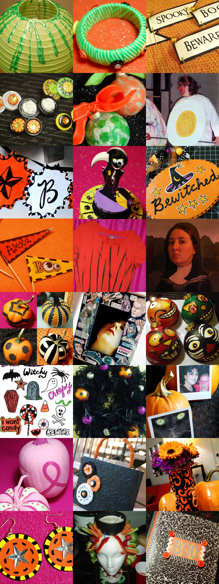 All the 24 Halloween crafts I created