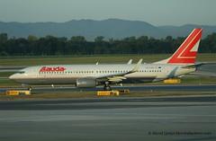 OE-LNK (dcspotter) Tags: boeing vie 737 737800 laudaair oelnk 10052009
