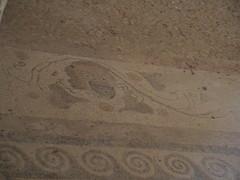 Ancient Greek Mosaics at House of Masks in Delos