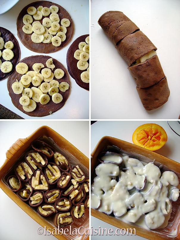 Pancakes Pudding
