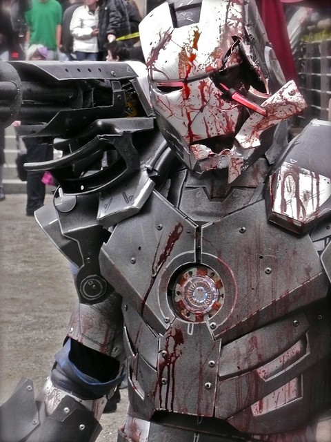 War Machine disfraz marcha Zombie