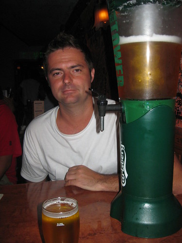 Fred and the beer tower