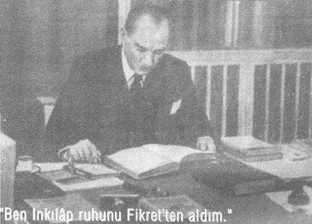 Tevfik Fikret ve Atatürk