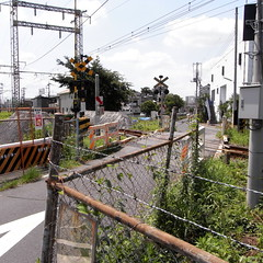 Shin-kane railroad crossing 04