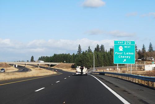 I-90 @ SR 904 east terminus
