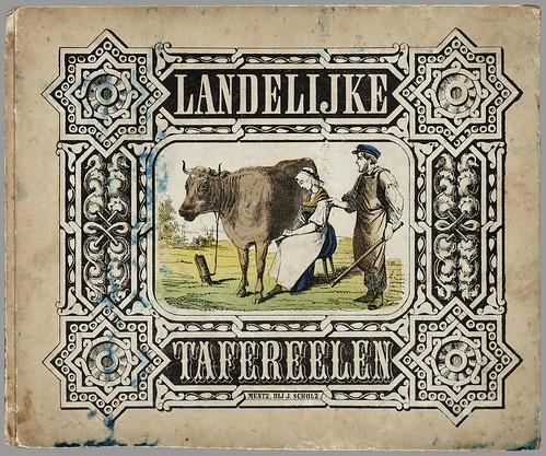 Landelijke tafereelen published by J Scholz, 1860s