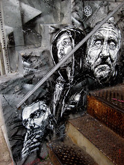 C215 - Brooklyn (C215) Tags: street streetart art brooklyn french graffiti stencil christian pochoir masacara szablon c215 schablon havermeyer gumy piantillas