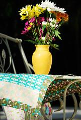 Table runner... (Art Gallery Fabrics) Tags: floral sewing patterns fabric purse chic elegant handbag artgalleryfabrics patriciabravo