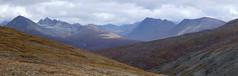 Kigluaik Mountains (Travis S.) Tags: autostitch panorama mountains alaska clouds hill north panoramic nome survey slope tundra osborn sewardpeninsula kigluaik stewartriver kigluaikmountains stewartrivericepatchsurvey