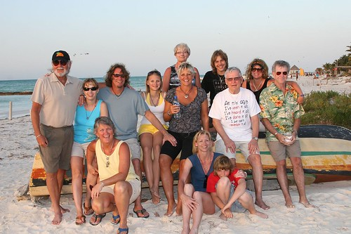 family reunion in Mexico