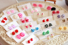 Ear Studs by Little waltz (Little Waltz / Petitevalse) Tags: earstud littlewaltz