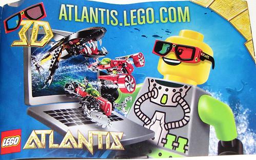 LEGO Atlantis - 3D