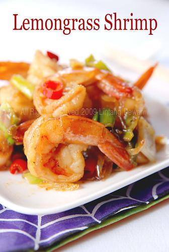 lemongrass shrimp ingredients 1 2 kg shrimps tail on deveined