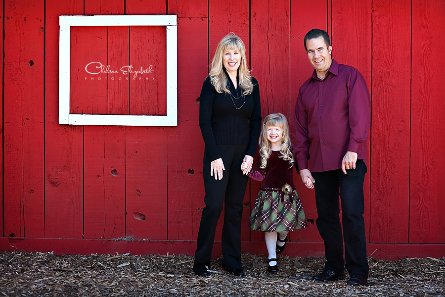 Camarillo Ranch house red barn family portrait picture