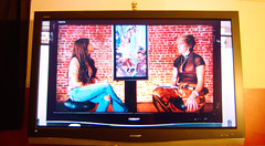 20091108 - our TV on TV... again - (Bruno) - GEDC0778