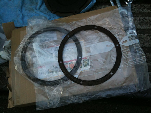 My Isetta Parts -Clutch Spacer ring- (November.23.2009)