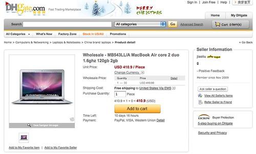 "$400 Pirate ""Apple"" Laptops 1"