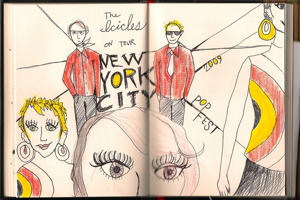 Tour Doodle 2009: Pages 14 & 15