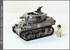 m8_2_01 (Captain Eugene) Tags: lego wwii m8 motorcarriage howitzer lighttank legotank brickmania