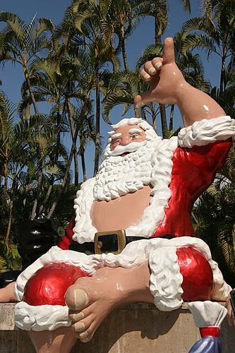 Honolulu Santa