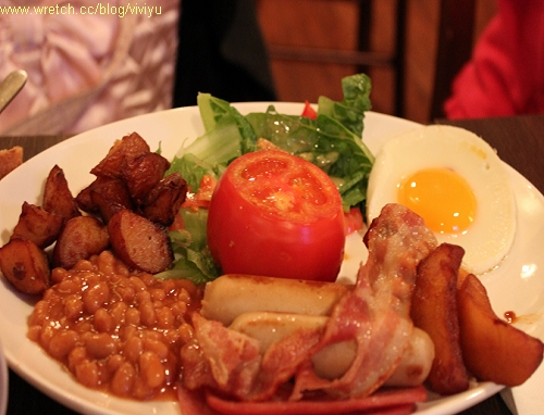 evans breakfast