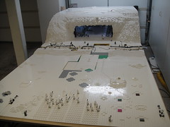 Unfinished battle field (brickplumber) Tags: starwars lego legostarwars hoth fbtb echobase