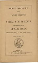 Cogan 1858 Large Cent catalog