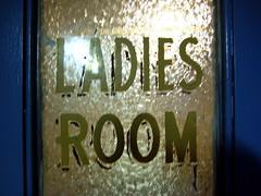 Ladies' Room - St Martin's church - NYC (verplanck) Tags: nyc harlem ghostsign