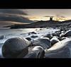 Snowy   Dunstanburgh (Reed Ingram Weir) Tags: longexposure sea snow seascape cold castle ice northumberland lee filters northeast dunstanburgh nikond700 09gndx2