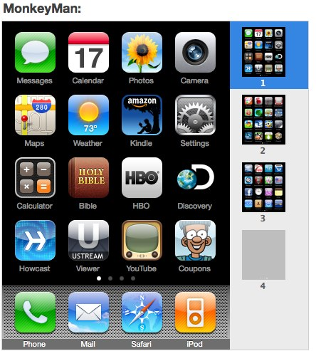 Mom's iPhone - Screen 1
