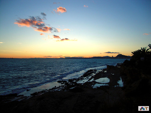 Puesta de Sol en el Cabo de las Huertas (I)