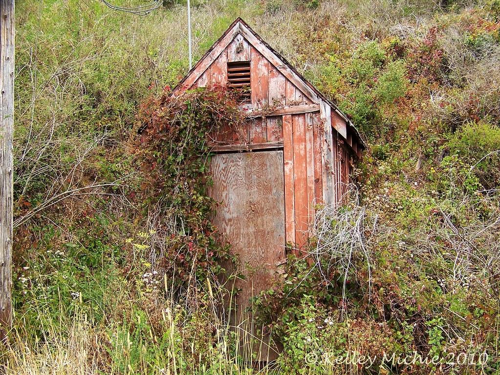 Rustic utility shack