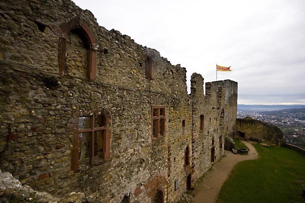 Castle Wall by rdmrtnz, on Flickr
