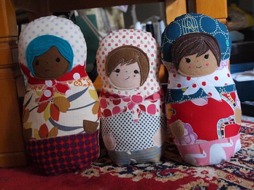 some russian dolls!